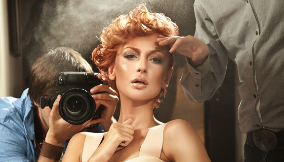 Celebrate beauty photoshooting