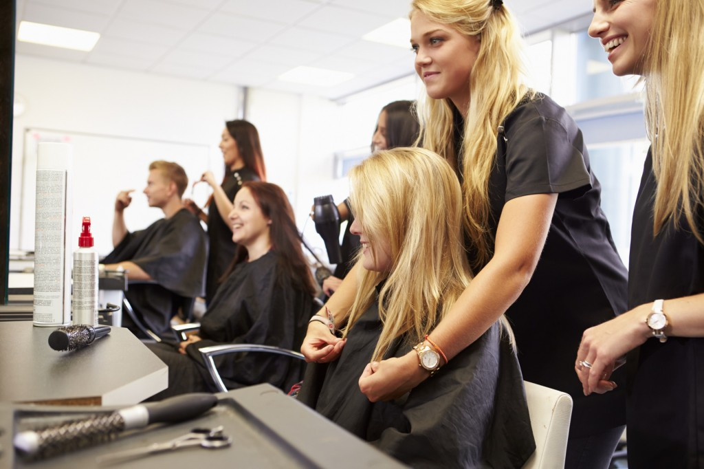 4 tricks to pass the california state licensing exam for Academy beauty salon
