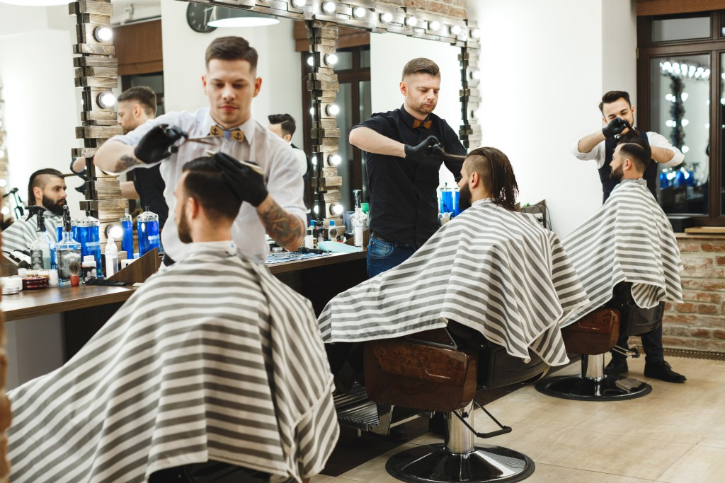 Barber training in California