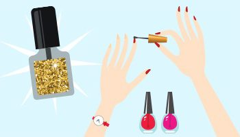Salon Success Academy Infographic on Nail Art