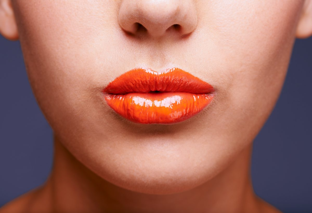 makeup trend for 2018 includes bold lip colors