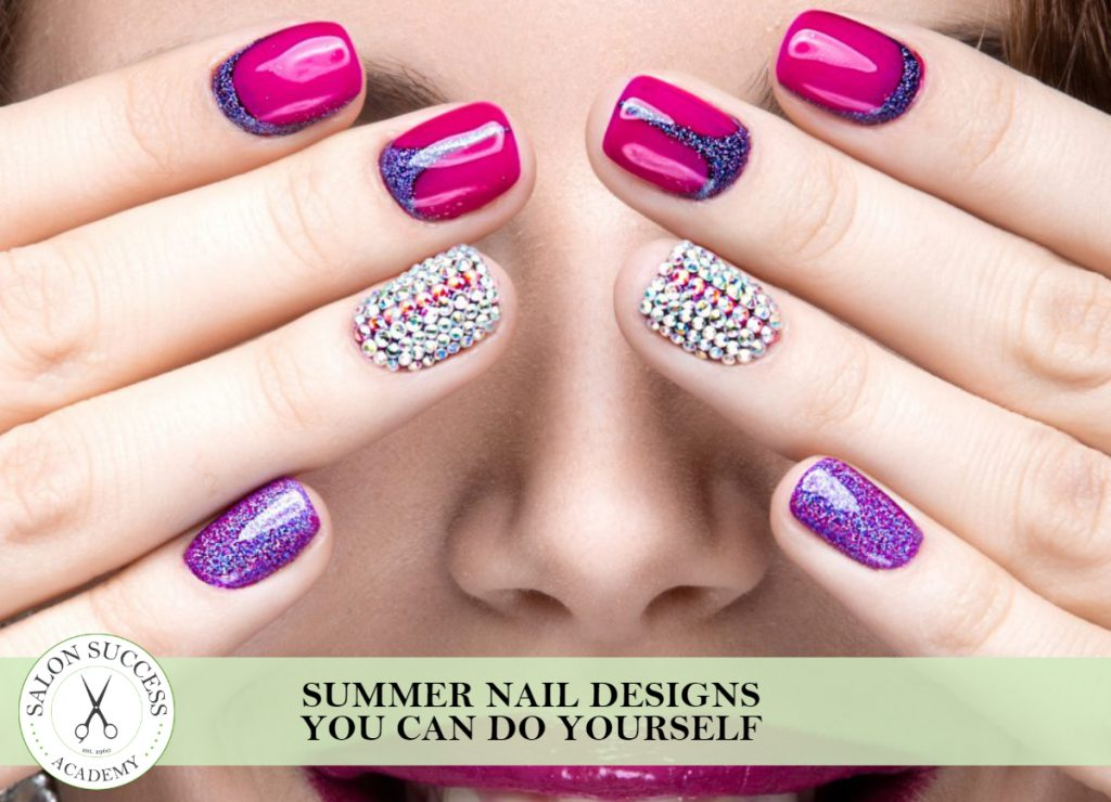 Summer Nail Designs You Can Do Yourself