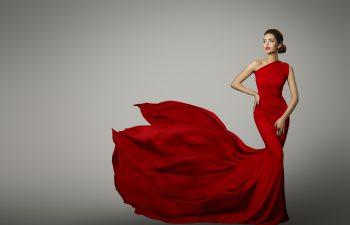 Fashion Model at Fall Fashion week