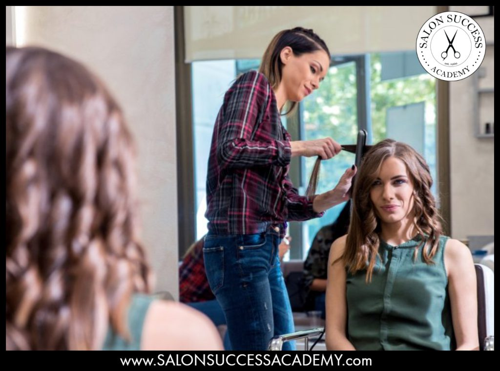 Gaining salon experience is integral to becoming a professional cosmetologist.