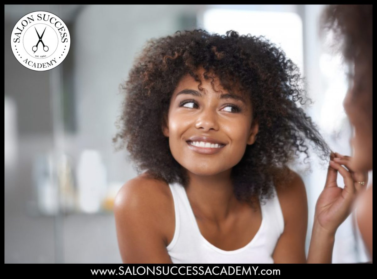 Curly hair care requires different treatment than straight hair.