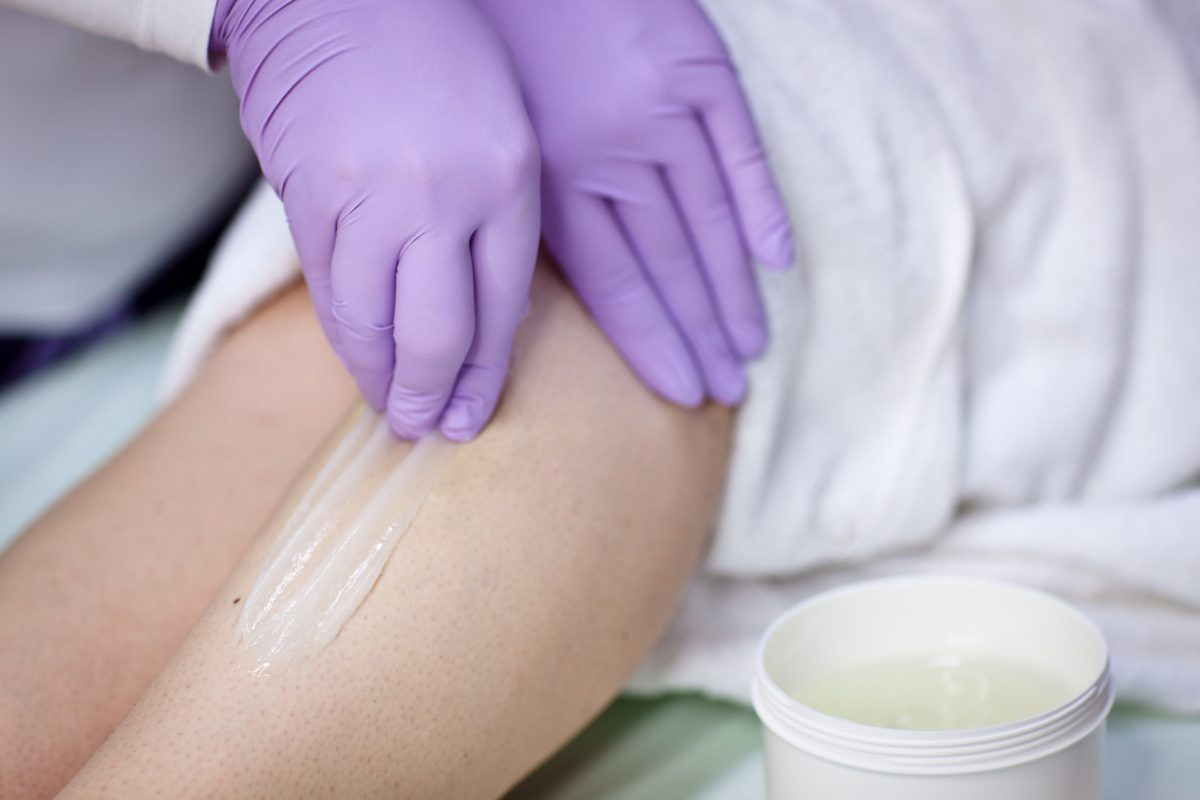 waxing sugaring hair removal