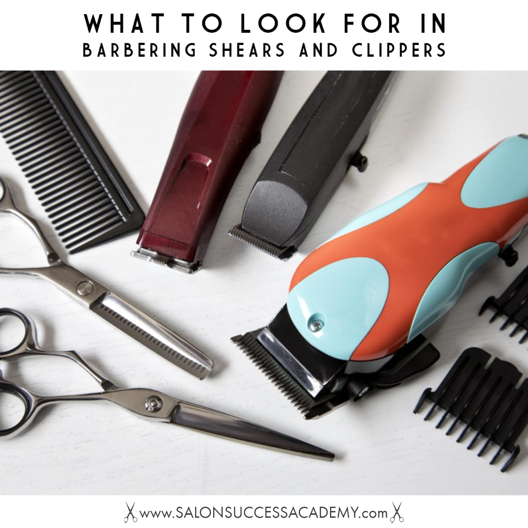 barbering shears and clippers