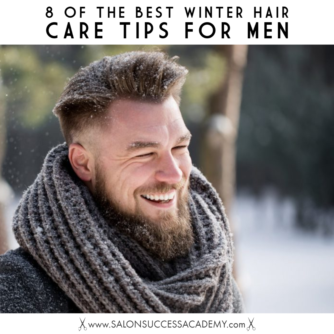 winter hair care for men