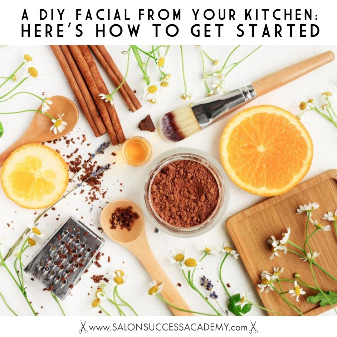 diy facial products
