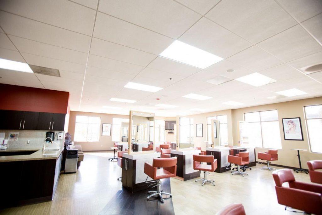 Inside of a Salon Success Academy school