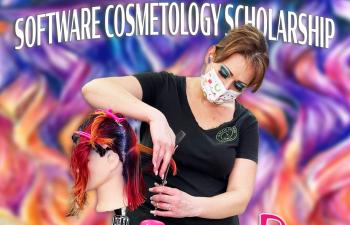 Windy Harvey wins Rosy Cosmetology Scholarship
