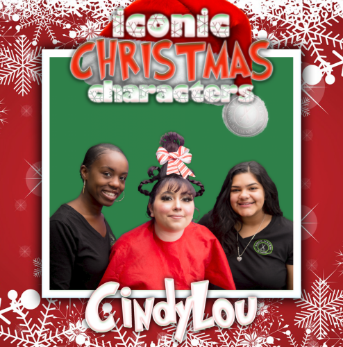 Iconic Christmas Characters Competition |  Salon Success Academy: Fontana